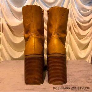 Frye Shoes - RARE Frye Karma Zip Platform Chunky Boots